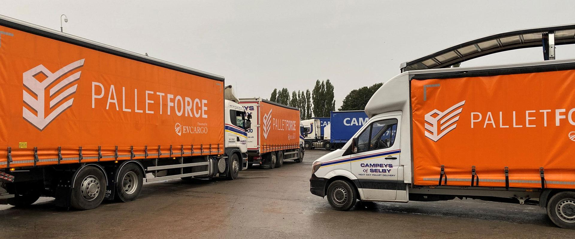 Palletforce at Campeys of Selby